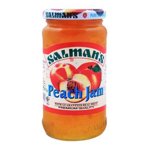 Salmans Peach Jam 450g
