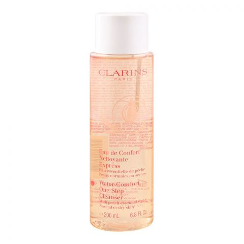 Clarins Paris Water Comfort One-Step Cleanser, Normal Or Dry, Skin 200ml