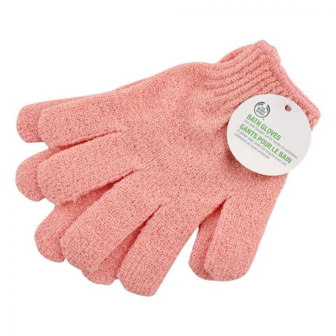 The Body Shop Bath Gloves, Pink