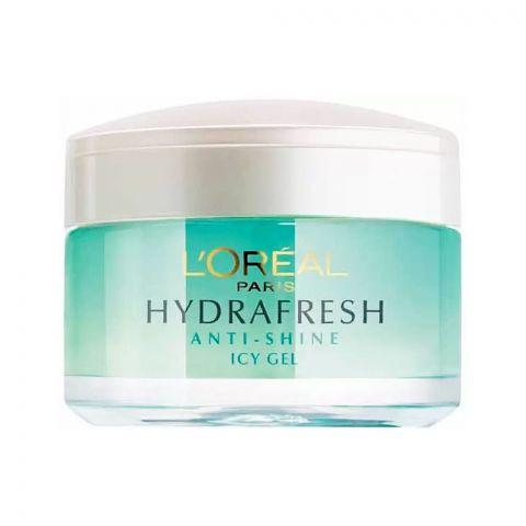 L'Oreal Paris Hydra Fresh Anti-Shine Purifying & Mattifying Icy Gel 50ml