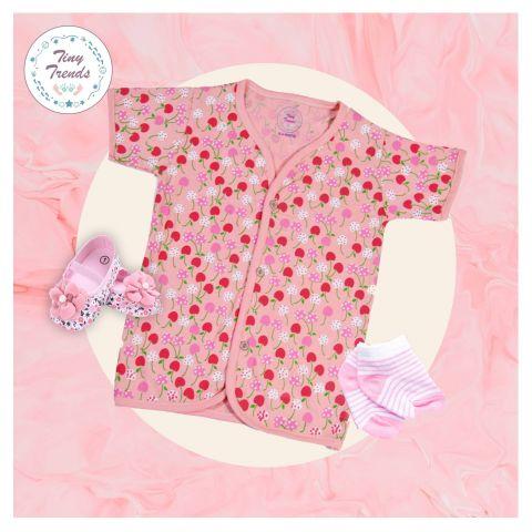Tiny Trends Cherry Girls Jabla, Light Pink