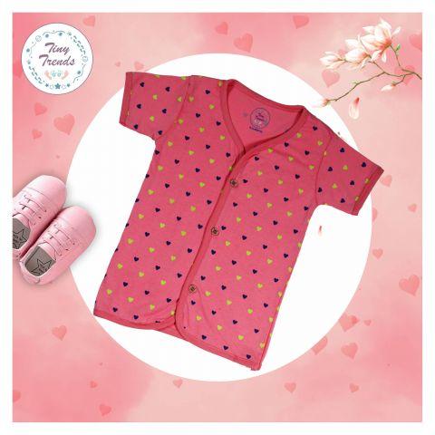 Tiny Trends Heart Girls Jabla, Dark Pink