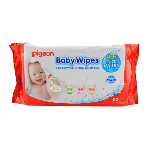 Pigeon Baby Wipes 82-Pack