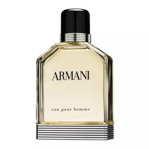 Armani Eau Pour Homme Eau De Toilette, Fragrance For Men, 100ml