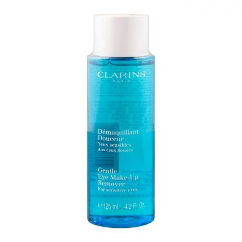Clarins Paris Gentle Eye Make-Up Remover For Sensitive Eyes, 125ml