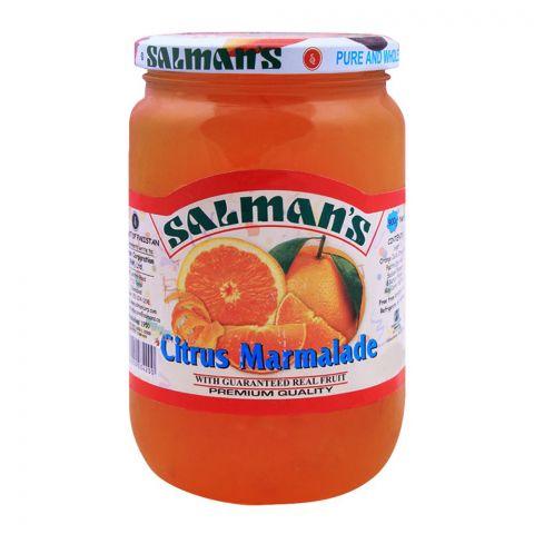 Salmans Citrus Marmalade Jam 900g