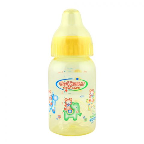 Camera Decorated Feeding Bottle L.S.R 140ml - 22245