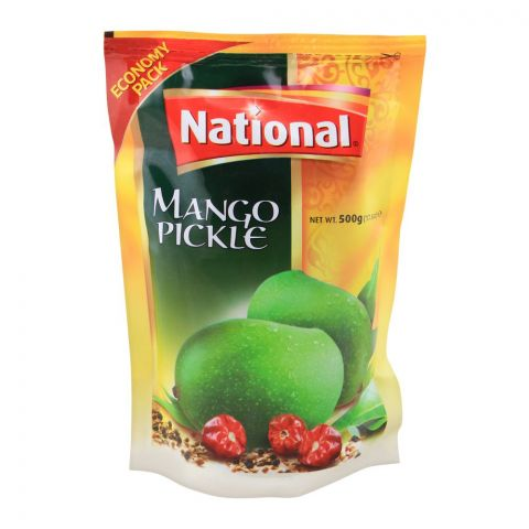 National Mango Pickle, 500g, Pouch