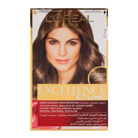 L'Oreal Excellence Hair Color Blond 7