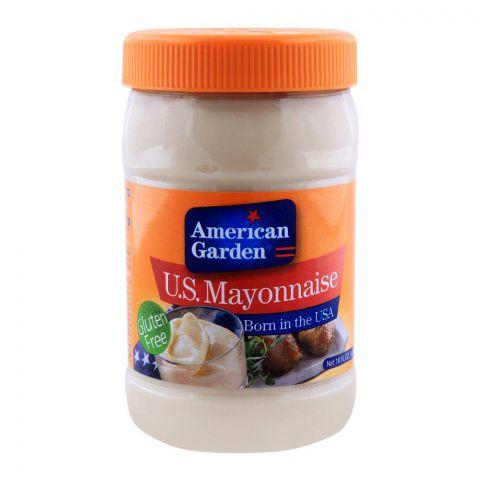 American Garden U.S. Mayonnaise, Gluten Free, 16oz/473ml