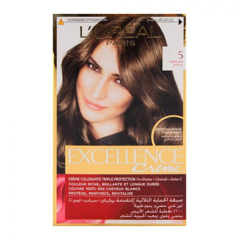 L'Oreal Excellence Hair Color Light Brown 5