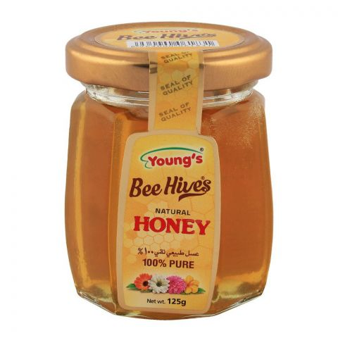 Young's Honey 125gm