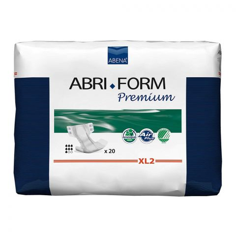 Abena Abri Form Premium Adult Incontinence Pads, Extra Large, 44-68 Inches, 20-Pack