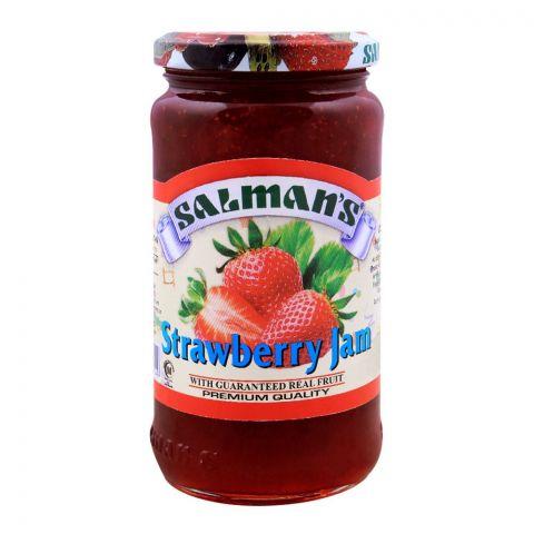 Salmans Strawberry Jam 450g