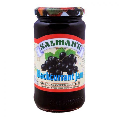 Salmans Blackcurrant Jam 450g