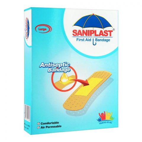 Saniplast First Aid Antiseptic Bandage, Large, 20-Pack