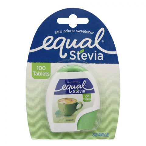 Equal Stevia Sweetener Tablets, Zero Calories, 100-Pack
