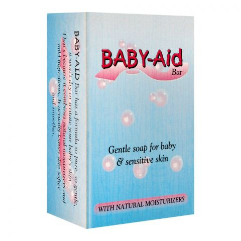 Baby-Aid Gentle Soap Bar For Baby, 70g