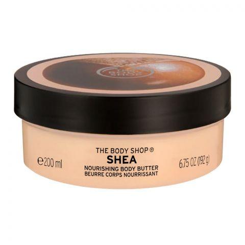 The Body Shop Shea Nourishing Body Butter, 200ml