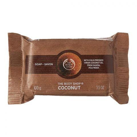 The Body Shop Coconut Soap, 100g