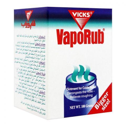 Vicks Vaporub, Imported, 100g
