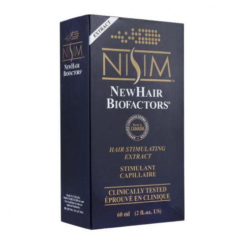 Nisim New Hair Biofactors Hair Stimulating Extract Oil, 60ml