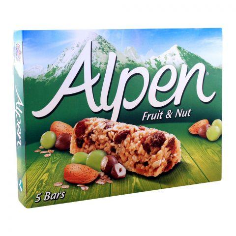 Alpen Fruit & Nut Cereal Bars 5-Pack