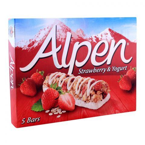 Alpen Light Strawberry & Yogurt Cereal Bars 5-Pack
