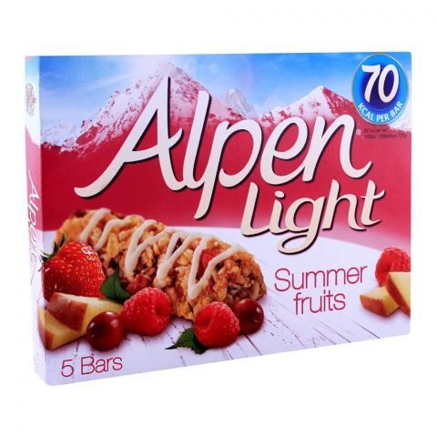 Alpen Light Summer Fruits Cereal Bars 5-Pack