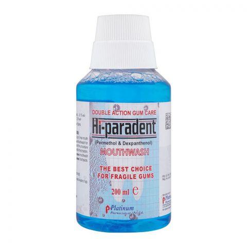 Hi-Paradent Mouthwash, 200ml
