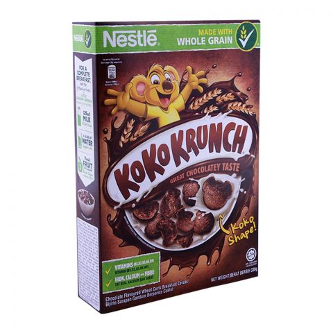 Nestle Koko Krunch Cereal, Whole Grain 330g
