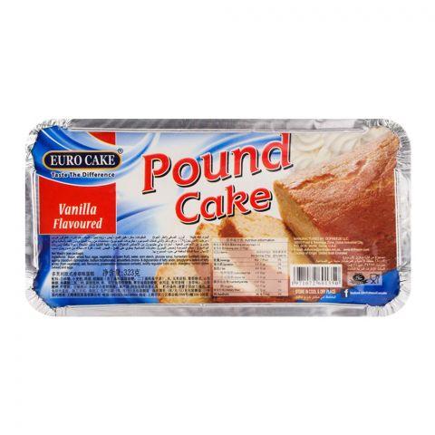Euro Pound Cake Vanilla 323gm