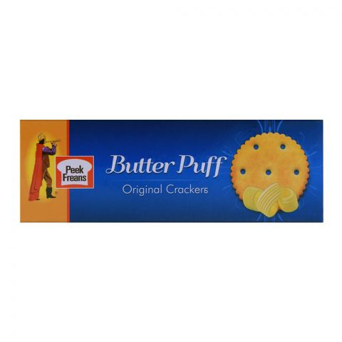 Peek Freans Butter Puff Original Biscuits (Family Pack) 104.8g