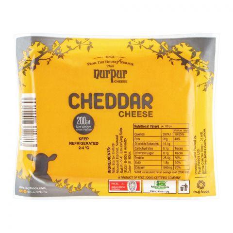 Nurpur Cheddar Cheese, 200g