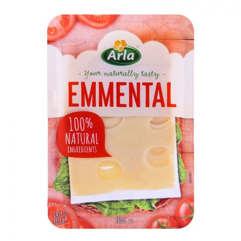 Arla Emmental Cheese Slices 150g