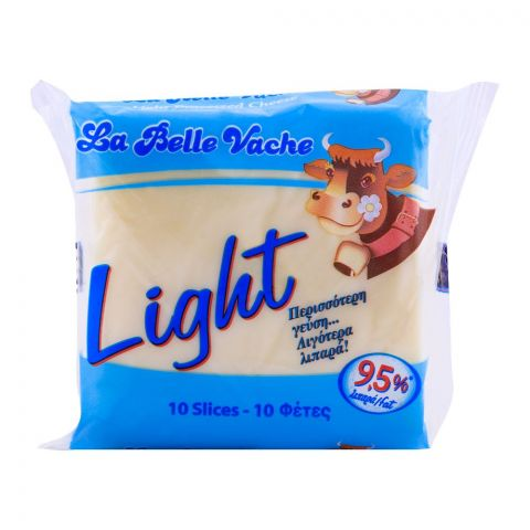 La Belle Vache Light Cheese Slice, 10 Slices