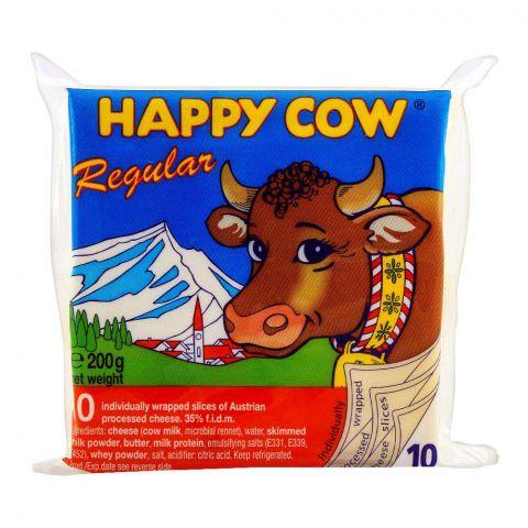 Happy Cow Regular 10 Slices 200g