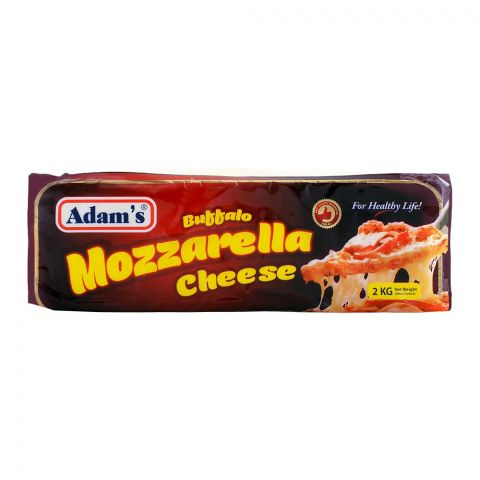 Adam's Danish Mozzarella Cheese 2 KG