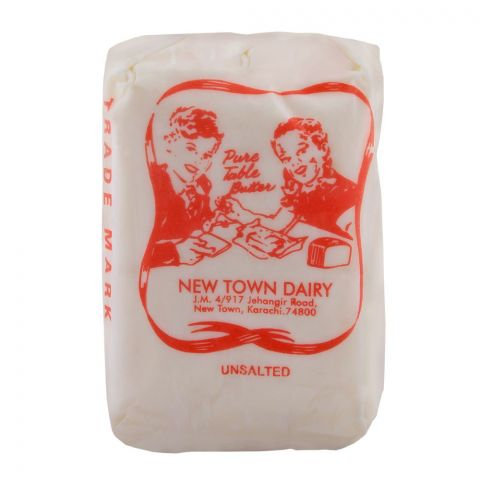 New Town Dairy Butter Un-Salted 200g