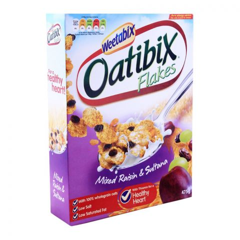 Weetabix Oatibix Flakes Mixed Raisin & Sultana 475g