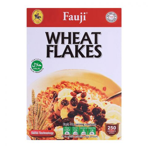 Fauji Wheat Flakes 250gm