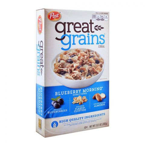 Post Great Grains Blueberry Morning Cereal 382g