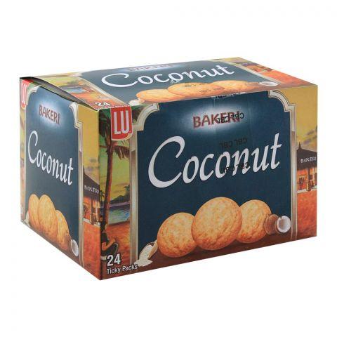 LU Bakeri Coconut Cookies, 24 Ticky Packs