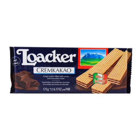 Loacker Cremkakao Wafers 175gm