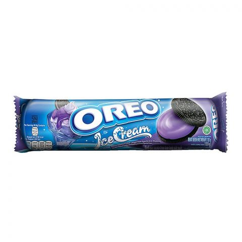 Oreo Ice Cream Blueberry Cookies, Imported Roll, 133g