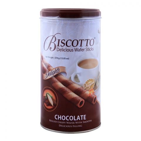 Biscotto Chocolate Wafer Sticks 370gm