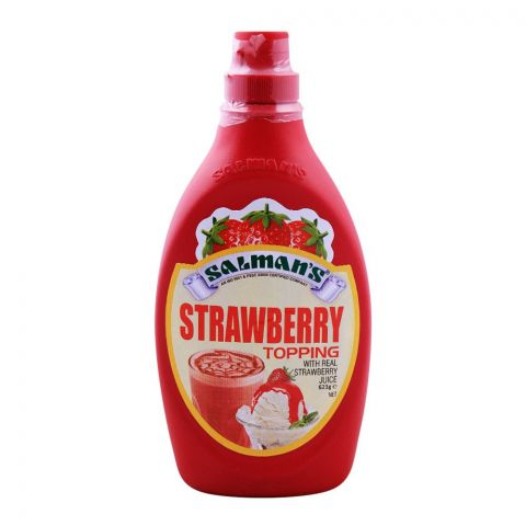 Salmans Strawberry Topping 623g