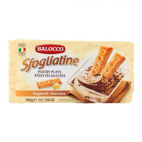 Balocco Sfogliatine Sugared Pastry 200gm