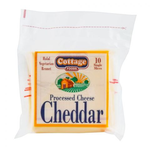 Cottage Cheddar Cheese Slices, 10 Pieces