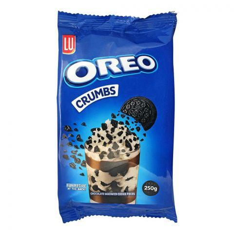 Oreo Crumbs Chocolate Sandwich Cookies Pieces, 250g